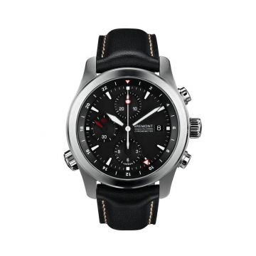 Bremont Stainless Steel 43mm Automatic Chronograph Men's Watch