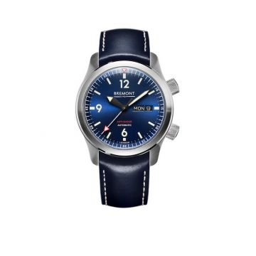 Bremont U-2 Stainless Steel 43mm Automatic Chronograph Men's Watch