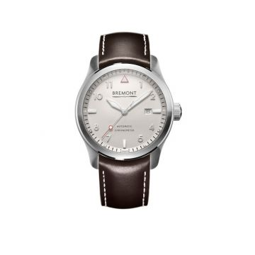 Bremont SOLO Stainless Steel 43mm Automatic Chronograph Men's Watch