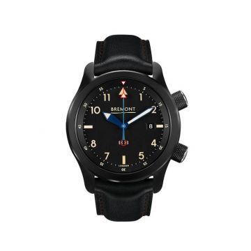 Bremont U-2 Black Stainless Steel 43mm Automatic Chronograph Men's Watch