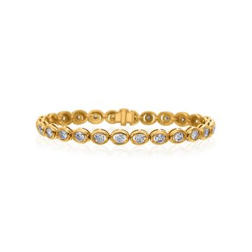Gumuchian 18k Yellow Gold Diamond Oasis Bracelet