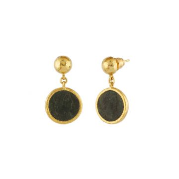 Gurhan Antiquities 24k Yellow Gold Earrings