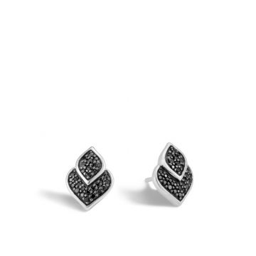 John Hardy Sterling Silver Legends Naga Gemstone Stud Earrings