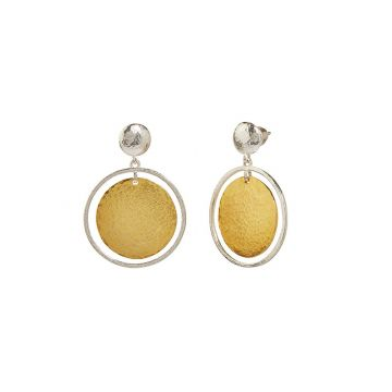 Gurhan Lush Two-Tone Sterling Silver Drop Earrings