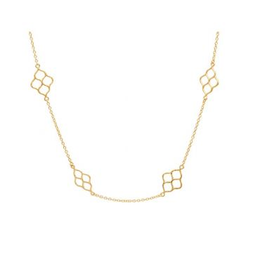 Gurhan Trellis station necklace