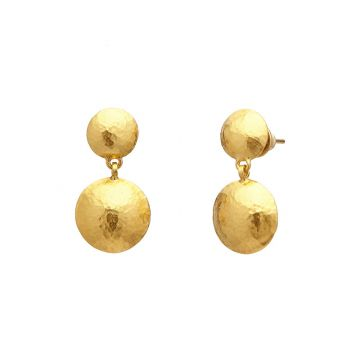 Gurhan Spell 24k Yellow Gold Drop Earrings