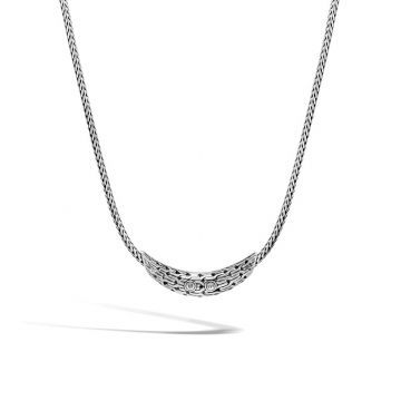 John Hardy Sterling Silver Classic Chain Gemstone Necklace