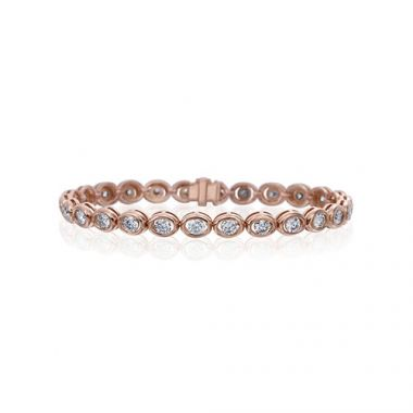 Gumuchian Oasis 18k Rose Gold Illusion Diamond Bracelet