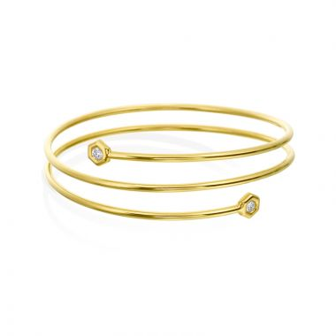 "Gumuchian 18k Yellow Gold Honeybee ""B"" Bracelet"