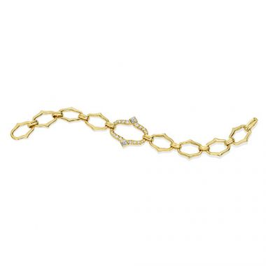 Gumuchian Secret Garden 18k Yellow Gold Diamond Bracelet