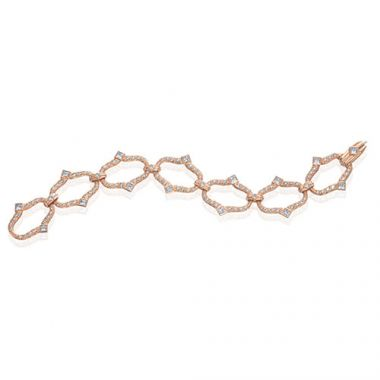 Gumuchian Secret Garden 18k Rose Gold Diamond Bracelet