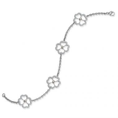 Gumuchian G. Boutique 18k White Gold Diamond Kelly Bracelet