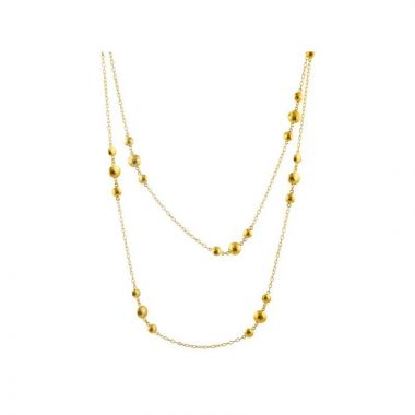 Gurhan Spell 24k Yellow Gold Necklace