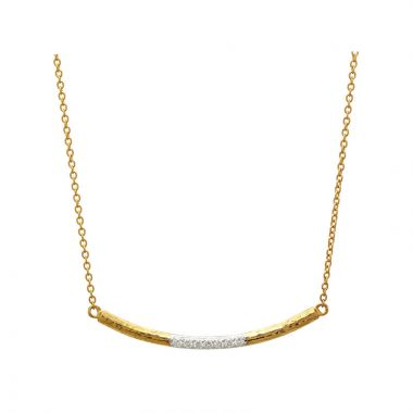 Gurhan Spell 24k Yellow Gold Diamond Necklace