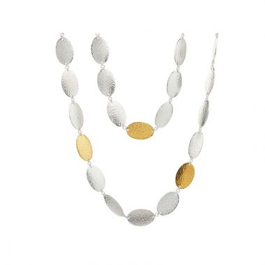Gurhan Mango Two-Tone Sterling Silver Necklace