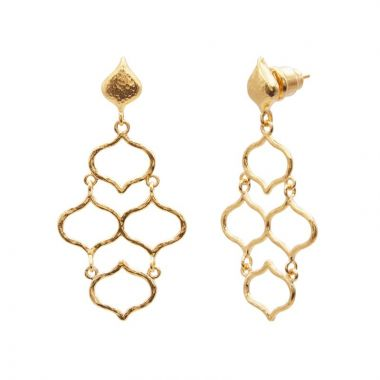 Gurhan Trellis Small Chandelier Earrings