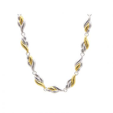 Gurhan Rapunzel Two-Tone Sterling Silver Necklace