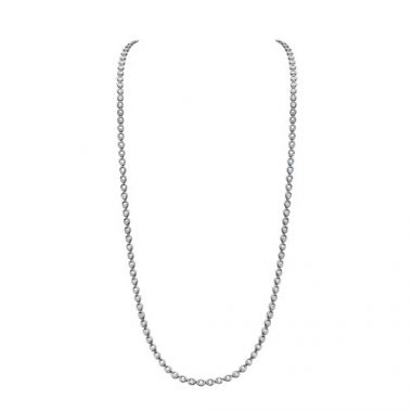 Gumuchian Oasis 18k White Gold Illusion Diamond Necklace