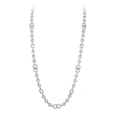Gumuchian Secret Garden 18k White Gold Diamond Necklace