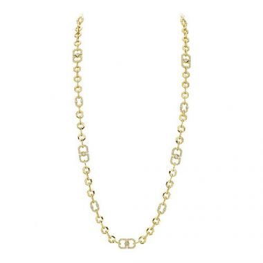 Gumuchian Secret Garden 18k Yellow Gold Diamond Necklace