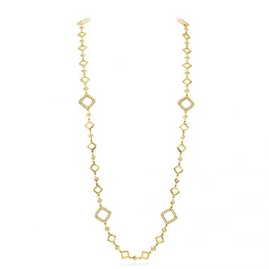 Gumuchian Kite 18k Yellow Gold Diamond Necklace
