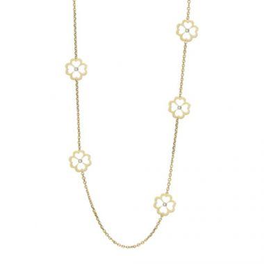 Gumuchian G. Boutique 18k Yellow Gold Diamond Kelly Necklace