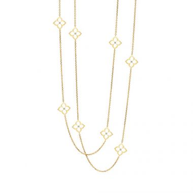 Gumuchian 18k Yellow Gold 0.36ct DIamond Necklace