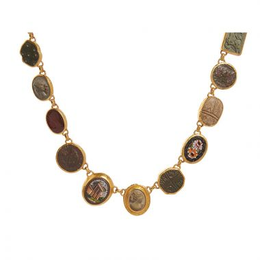 Gurhan Rainbow 24k Yellow Gold Gemstone Necklace - One of a Kind