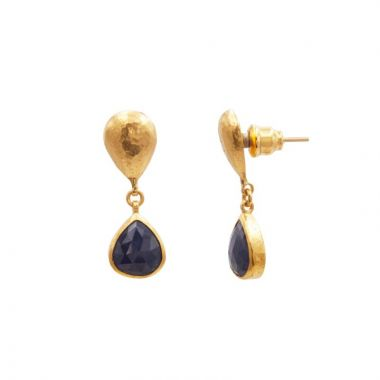 Gurhan Rune dangle earring