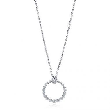 Gumuchian Nutmeg 18k White Gold Diamond Necklace