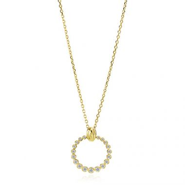 Gumuchian Nutmeg 18k Yellow Gold Diamond Necklace