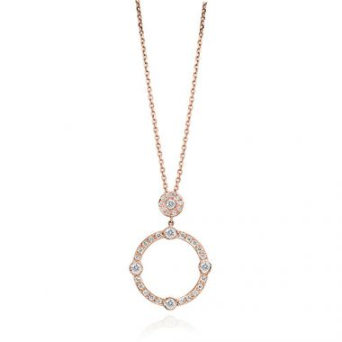 Gumuchian Carousel 18k Rose Gold Diamond Jubilee Sliding Necklace