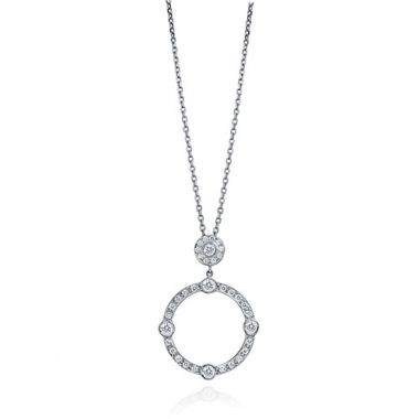 Gumuchian Carousel 18k White Gold Diamond Jubilee Sliding Necklace