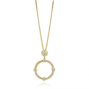 Gumuchian Carousel 18k Yellow Gold Diamond Jubilee Sliding Necklace