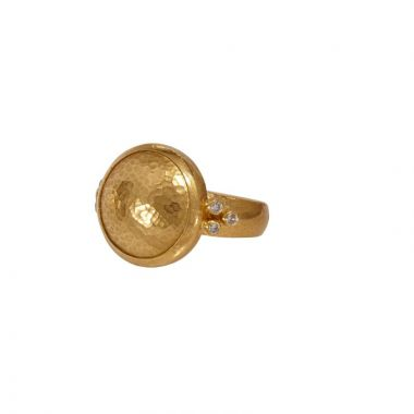Gurhan Amulet ring in 24K