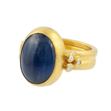 Gurhan One of a Kind kyanite ring- 24K Gold
