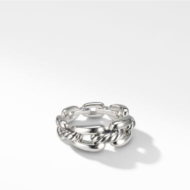 David Yurman Wellesley Chain Link Ring, 8mm