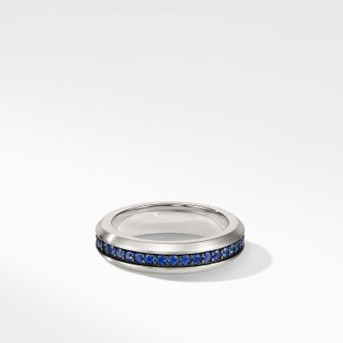 David Yurman Streamline® Band Ring with Sapphires