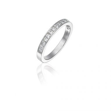 Gumuchian Bridal Platinum Diamond Wedding Band