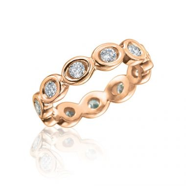 Gumuchian Oasis 18k Rose Gold Illusion Diamond Ring