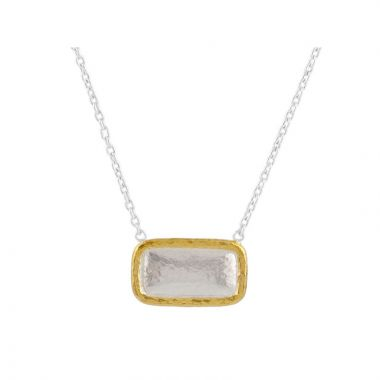 Gurhan Amulet Two-Tone Sterling Silver Necklace