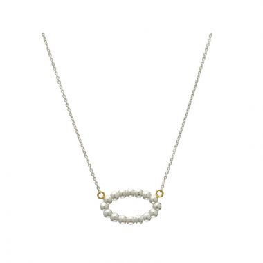 Gurhan Caviar Two-Tone Sterling Silver Necklace