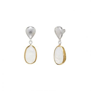 Gurhan Galapagos Two-Tone Sterling Silver Drop Earrings