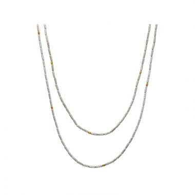 Gurhan Vertigo Two-Tone Sterling Silver Necklace